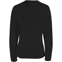 Abbigliamento Donna T-shirts a maniche lunghe Spiro S254F Nero