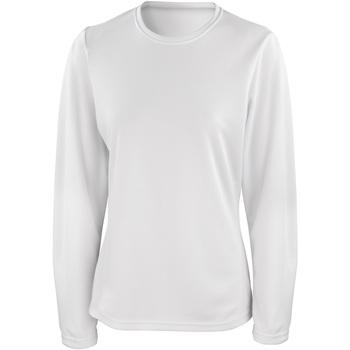 Abbigliamento Donna T-shirts a maniche lunghe Spiro S254F Bianco