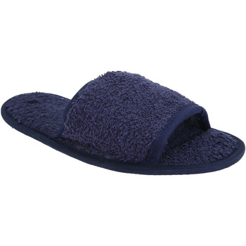 Scarpe Pantofole Towel City TC064 Blu navy