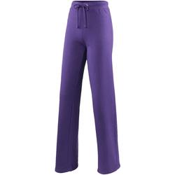 Abbigliamento Donna Pantaloni da tuta Awdis JH075 Viola