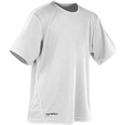 Abbigliamento Bambino T-shirt maniche corte Spiro S253J Bianco