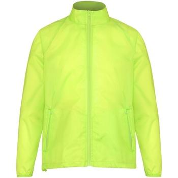Abbigliamento Uomo giacca a vento 2786 TS010 Giallo