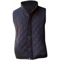 Abbigliamento Uomo Gilet / Cardigan Front Row FR903 Nero