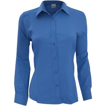 Abbigliamento Donna Camicie Henbury Wicking Blu reale