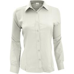 Abbigliamento Donna Camicie Henbury Wicking Bianco