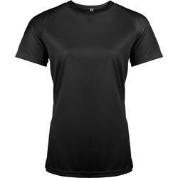 Abbigliamento Donna T-shirt maniche corte Kariban Proact PA439 Nero