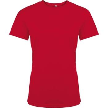 Abbigliamento Donna T-shirt maniche corte Kariban Proact PA439 Rosso