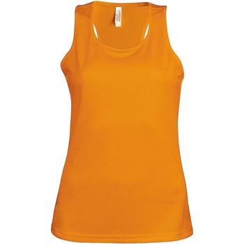 Abbigliamento Donna Top / T-shirt senza maniche Kariban Proact Proact Arancio