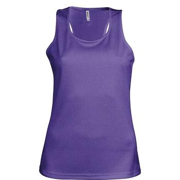 Abbigliamento Donna Top / T-shirt senza maniche Kariban Proact Proact Viola