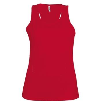 Abbigliamento Donna Top / T-shirt senza maniche Kariban Proact Proact Rosso