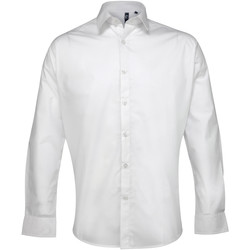 Abbigliamento Uomo Camicie maniche lunghe Premier PR207 Bianco