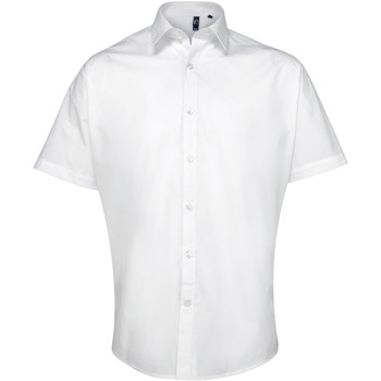 Abbigliamento Uomo Camicie maniche corte Premier PR209 Bianco