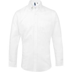 Abbigliamento Uomo Camicie maniche lunghe Premier PR234 Bianco