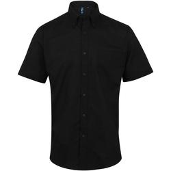 Abbigliamento Uomo Camicie maniche corte Premier PR236 Nero