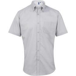 Abbigliamento Uomo Camicie maniche corte Premier PR236 Argento