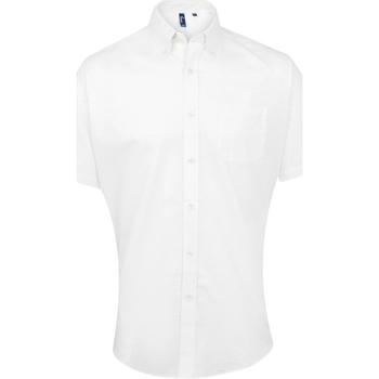 Abbigliamento Uomo Camicie maniche corte Premier PR236 Bianco