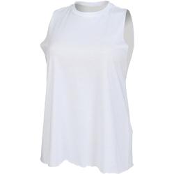 Abbigliamento Donna Top / T-shirt senza maniche Skinni Fit High Neck Bianco
