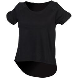 Abbigliamento Donna T-shirt maniche corte Skinni Fit SK233 Nero