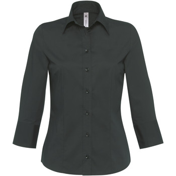Abbigliamento Donna Camicie B And C Milano Nero