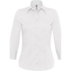 Abbigliamento Donna Camicie B And C Milano Bianco