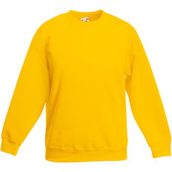 Abbigliamento Unisex bambino Felpe Fruit Of The Loom 62031 Girasole