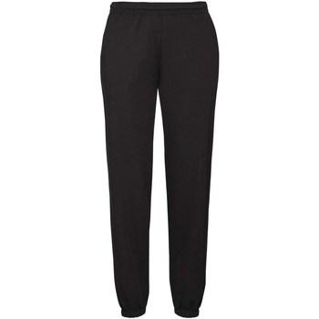 Abbigliamento Uomo Pantaloni da tuta Fruit Of The Loom 64040 Nero