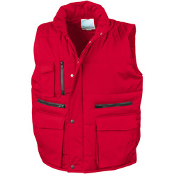 Abbigliamento Uomo Gilet / Cardigan Result R127A Rosso