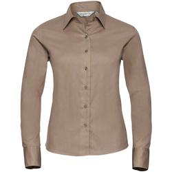 Abbigliamento Donna Camicie Russell J916F Deserto