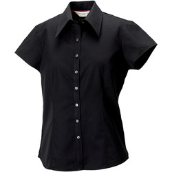 Abbigliamento Donna Camicie Russell J955F Nero