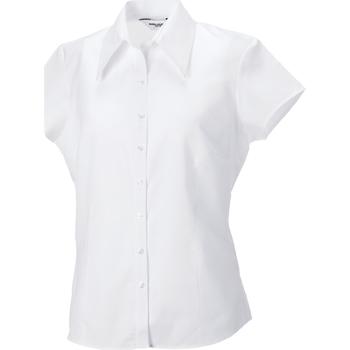 Abbigliamento Donna Camicie Russell J955F Bianco