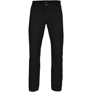 Abbigliamento Uomo Chino Asquith & Fox AQ050 Nero