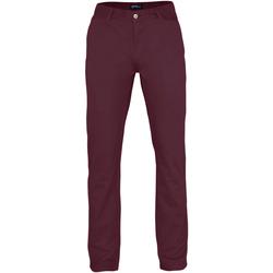 Abbigliamento Uomo Chino Asquith & Fox AQ050 Bordeaux