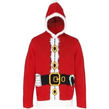 Abbigliamento Maglioni Christmas Shop CS420 Rosso