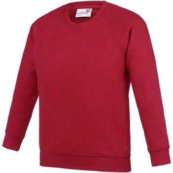 Abbigliamento Unisex bambino Felpe Awdis AC01J Rosso