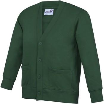 Abbigliamento Unisex bambino Gilet / Cardigan Awdis Academy Verde