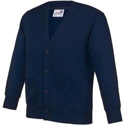 Abbigliamento Unisex bambino Gilet / Cardigan Awdis Academy Blu navy