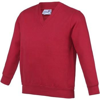 Abbigliamento Unisex bambino Felpe Awdis AC03J Rosso
