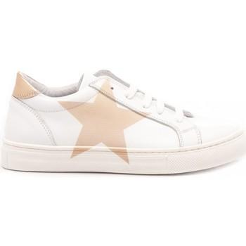 Scarpe Bambina Sneakers basse Chiara Luciani Chiara Luciani Sneakers Bambina Vitello Bianco bianco, rosato