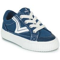 Scarpe Unisex bambino Sneakers basse Victoria TRIBU LONA RETRO Blu
