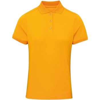 Abbigliamento Donna Polo maniche corte Premier PR616 Girasole