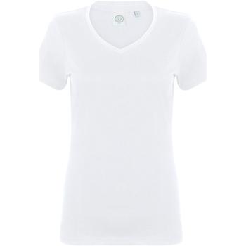 Abbigliamento Donna T-shirt maniche corte Skinni Fit SK122 Bianco