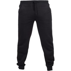 Abbigliamento Uomo Pantaloni da tuta Skinni Fit Cuffed Nero