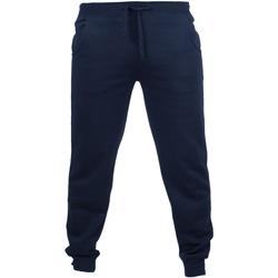 Abbigliamento Uomo Pantaloni da tuta Skinni Fit Cuffed Blu navy