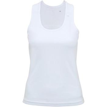 Abbigliamento Donna Top / T-shirt senza maniche Tridri TR023 Bianco