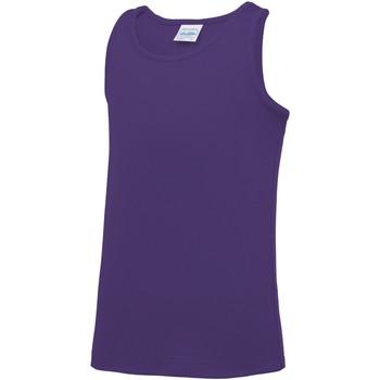 Abbigliamento Unisex bambino Top / T-shirt senza maniche Awdis JC07J Viola