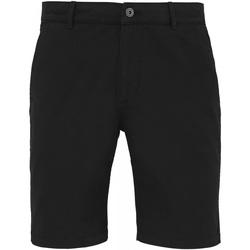 Abbigliamento Uomo Shorts / Bermuda Asquith & Fox AQ051 Nero