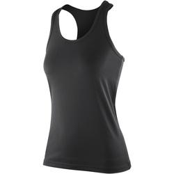 Abbigliamento Donna Top / T-shirt senza maniche Spiro S281F Nero