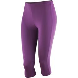 Abbigliamento Donna Leggings Spiro S284F Uva