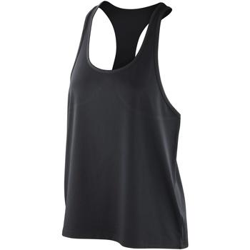 Abbigliamento Donna Top / T-shirt senza maniche Spiro S285F Nero