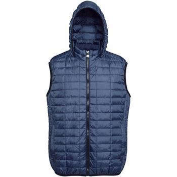 Abbigliamento Uomo Piumini 2786 Honeycomb Blu navy